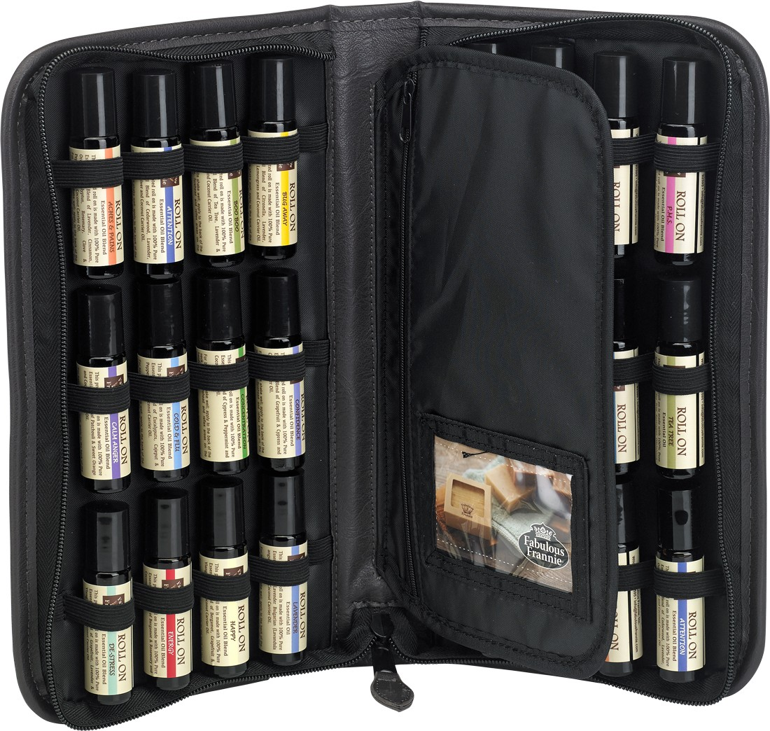 Roll On Super Set In Carrying Case Includes 24 10 Ml Pure