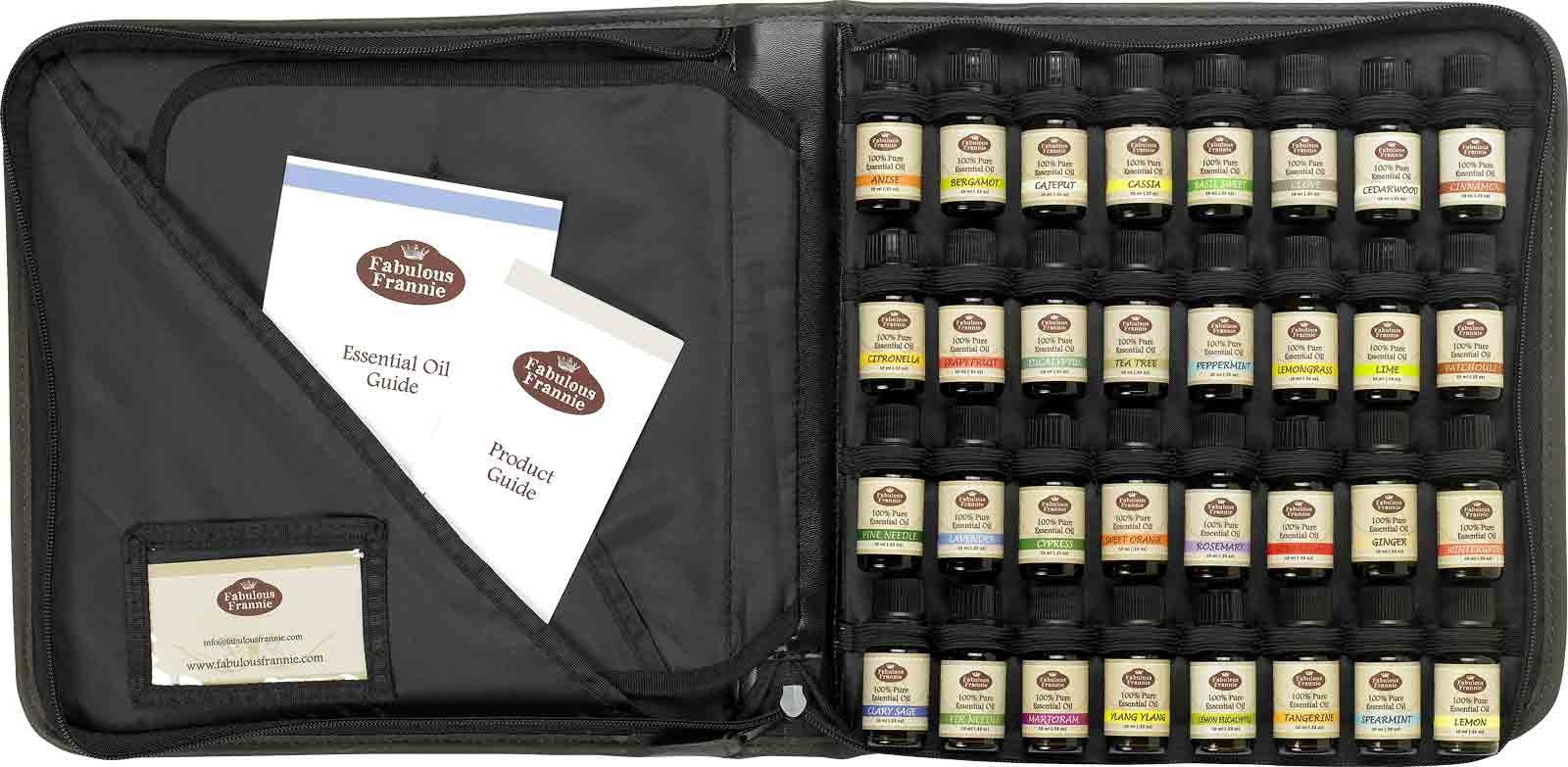 Aromatherapy Set In Carrying Case Essential Oil Kits