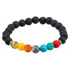 Bracelet Lava Ball Chakra