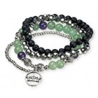Bracelet Lava Ball Healing Stack Set