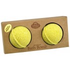Lemon Bergamot Bath Bomb 2.75oz - 2pk