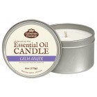 Calm Anger Essential Oil Candle 6oz Tin