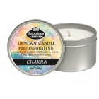 Chakra Essential Oil Candle 6oz Tin
