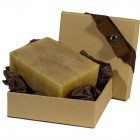 Honey Almond Natural Herbal Bar Soap 4 oz - Gift Set