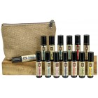 Roll On Set with Travel Bag  (Includes 14-10ml Pure Essential Oil ROLL ONs and Travel Bag)
