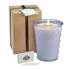 Lavender All Natural Soy Candle 16oz Jar - Gift Set