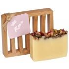Rose All Natural Bar Soap 4oz - Dish Soap Gift Set